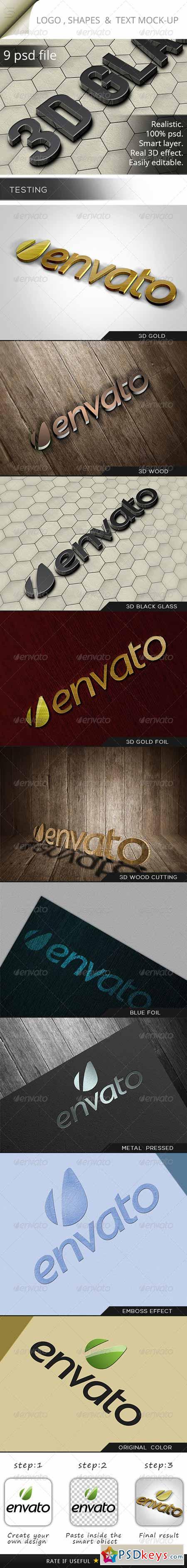 Photorealistic Logo Mock-Up 5721937