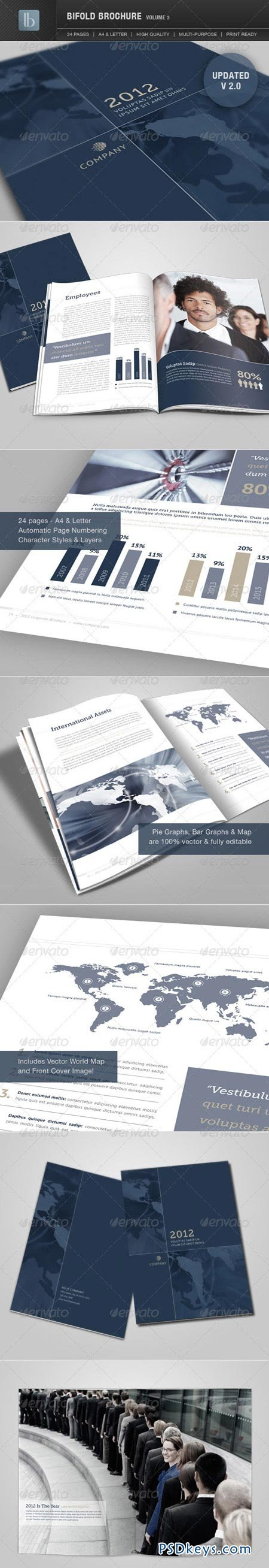 Bifold Brochure Volume 3 GraphicRiver