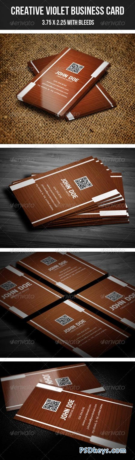 Creative Business Card 37 GraphicRiver