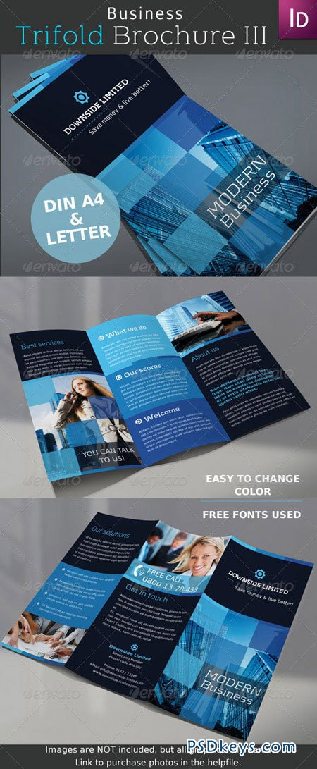 Business Trifold Brochure Vol.III 2762665