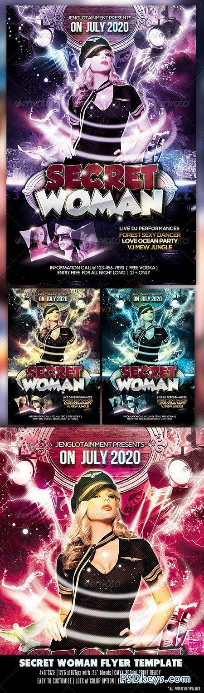 Secret Woman Flyer 2650832