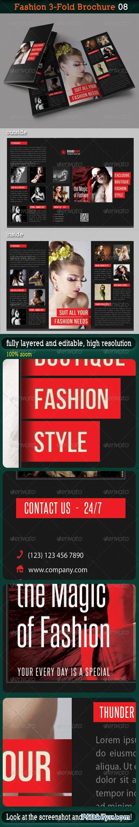 Fashion 3-Fold Brochure 08 6265529