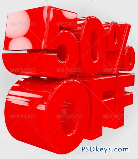 50% Off 3D Render 2647452