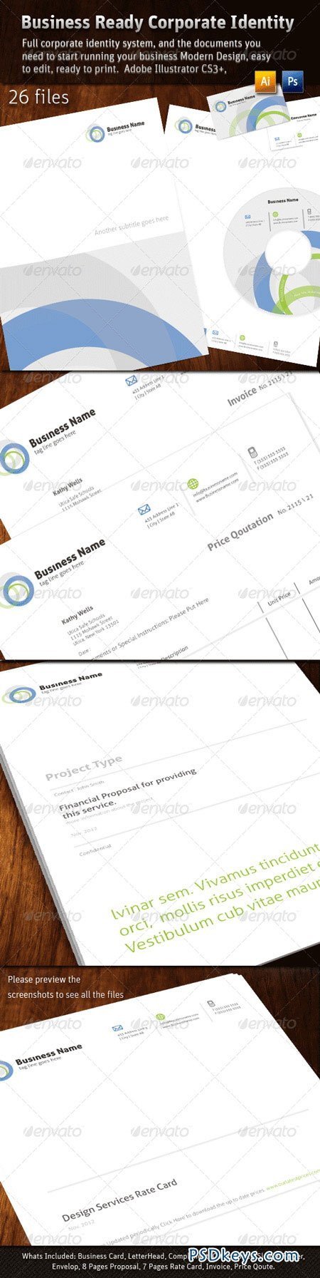 Business Ready Corporate Identity 400904