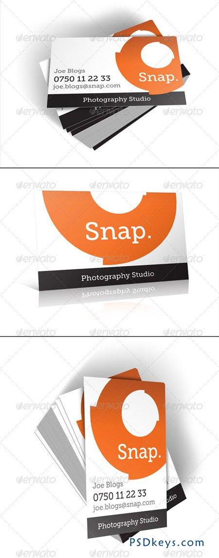 Snap Business Card Portrait And Landscape 226948