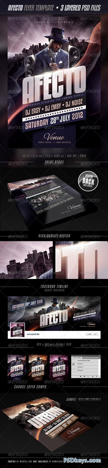 Afecto Flyer Template 2737369