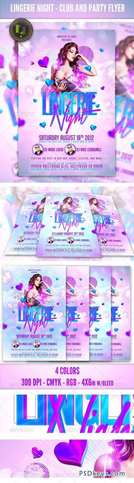 Ladies Night Party Club Flyer Template 2503811