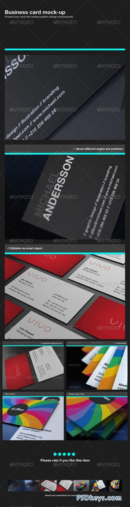 Business Card Mock-Up 319932