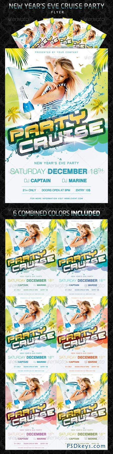 Party Cruise Flyer 926382