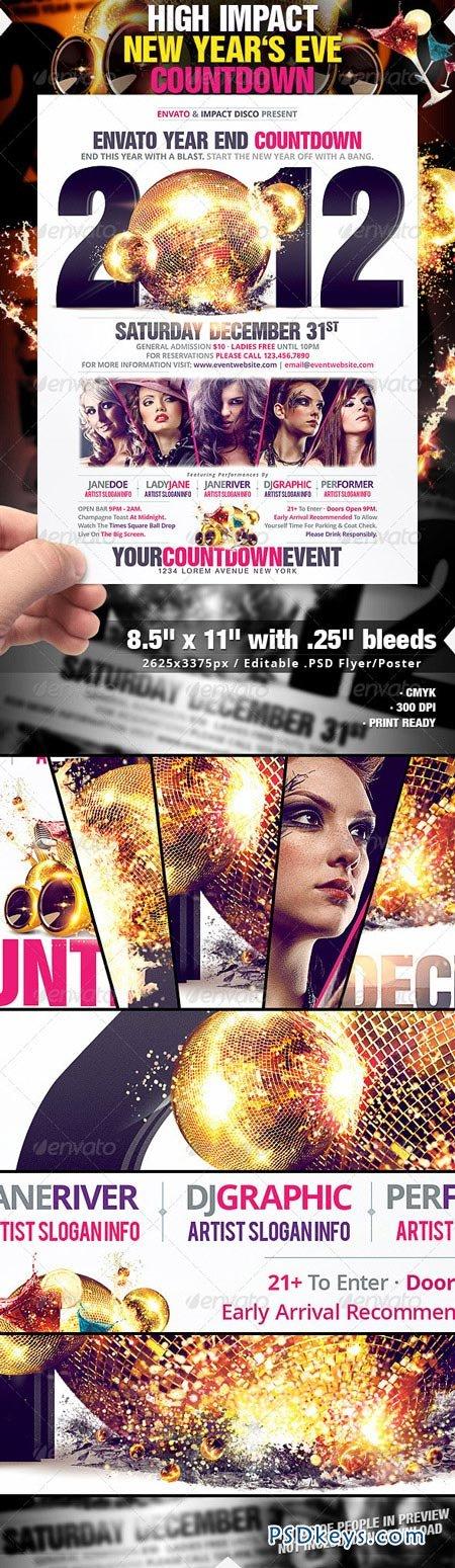 High Impact New Years Eve Countdown 1071358