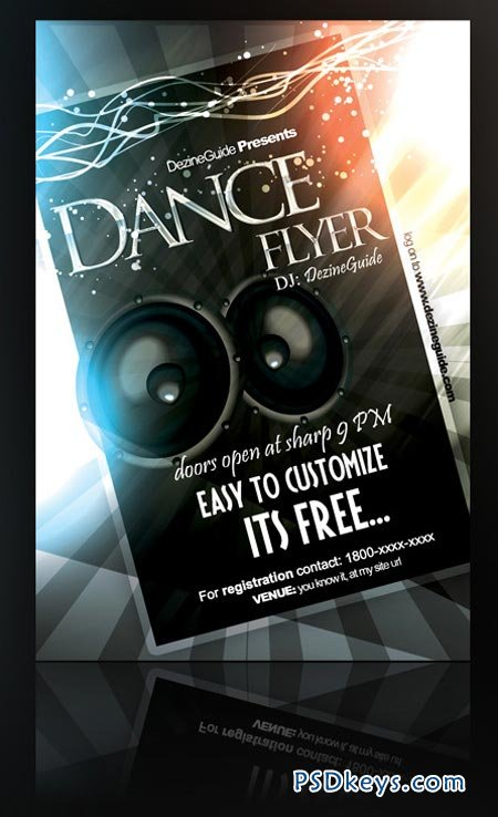 Dance Flyer Poster Templates