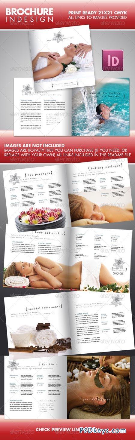 SPA Beauty Center Square Brochure 236494