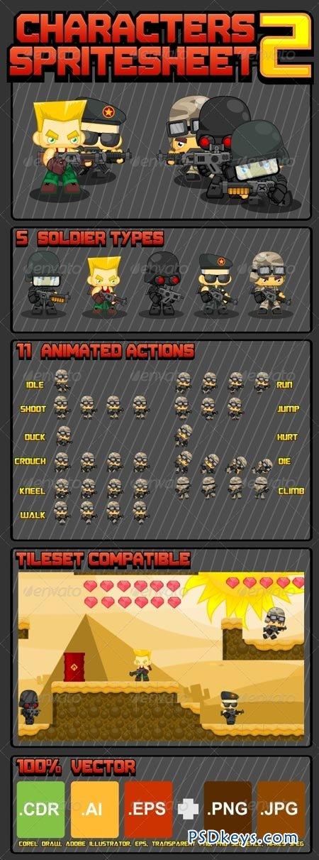 Characters Spritesheet 5129018