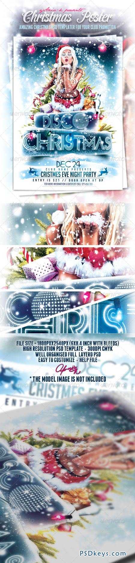 Christmas Event Flyer Template 6249085