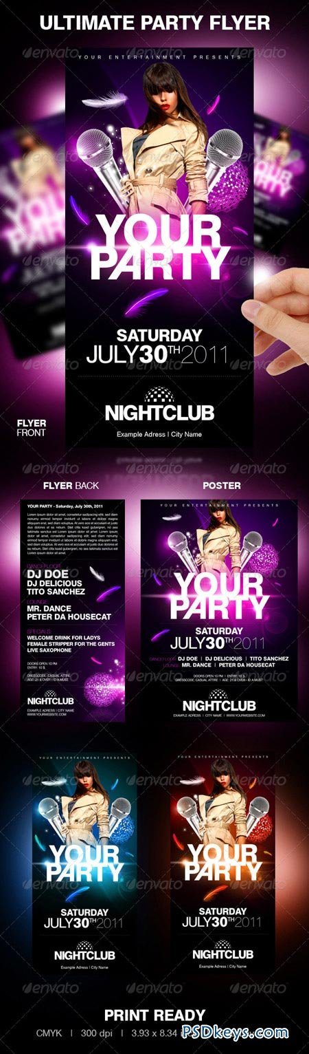 Ultimate Party Flyer 152887