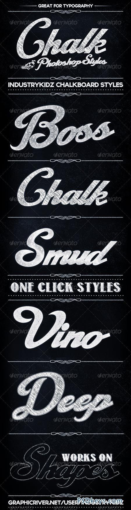 Chalkboard Photoshop Layer Styles 3585861