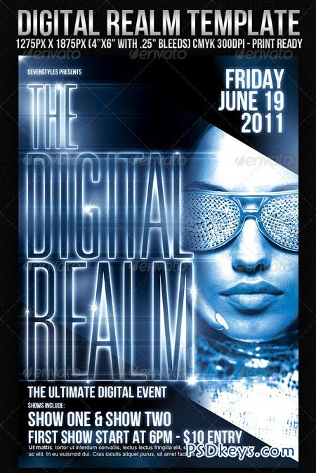 DigitalRealm Flyer Template 179451