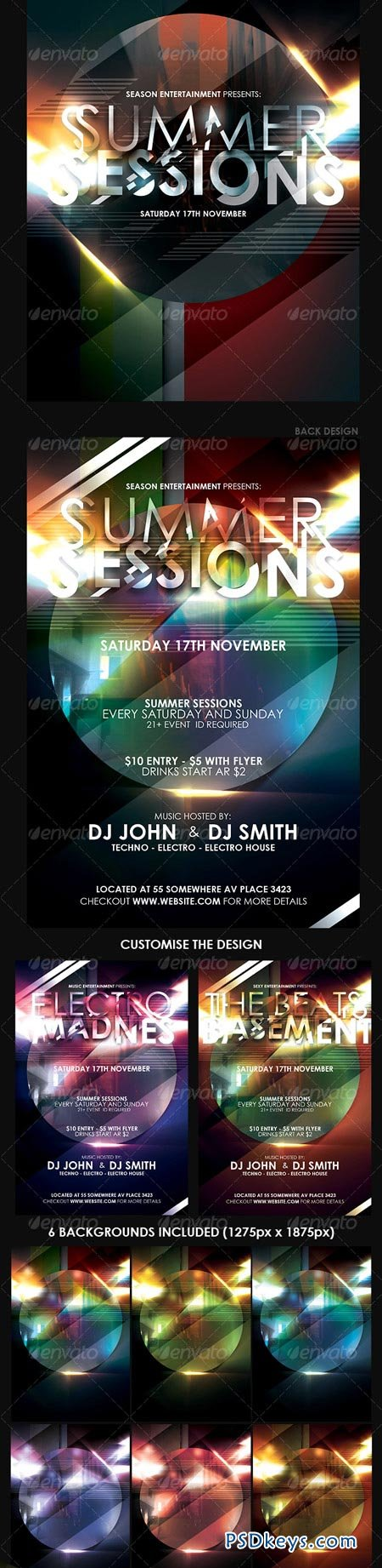 Flyer Postcard Template 102747