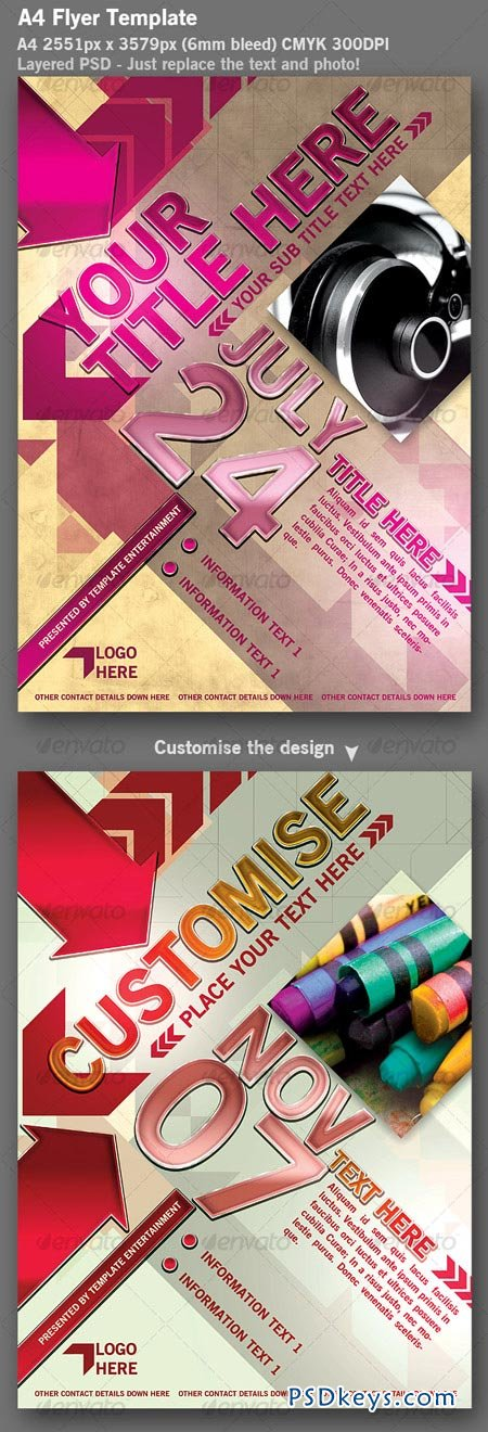 Flyer Template 113634