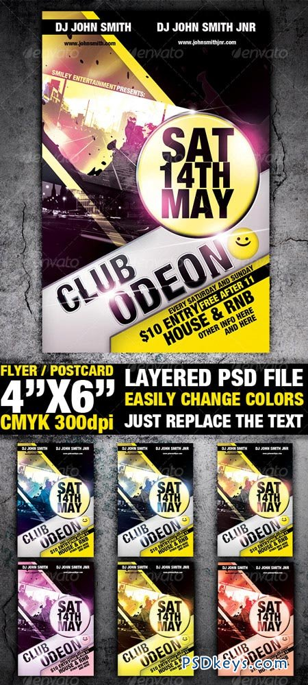 Club Flyer Template 99228