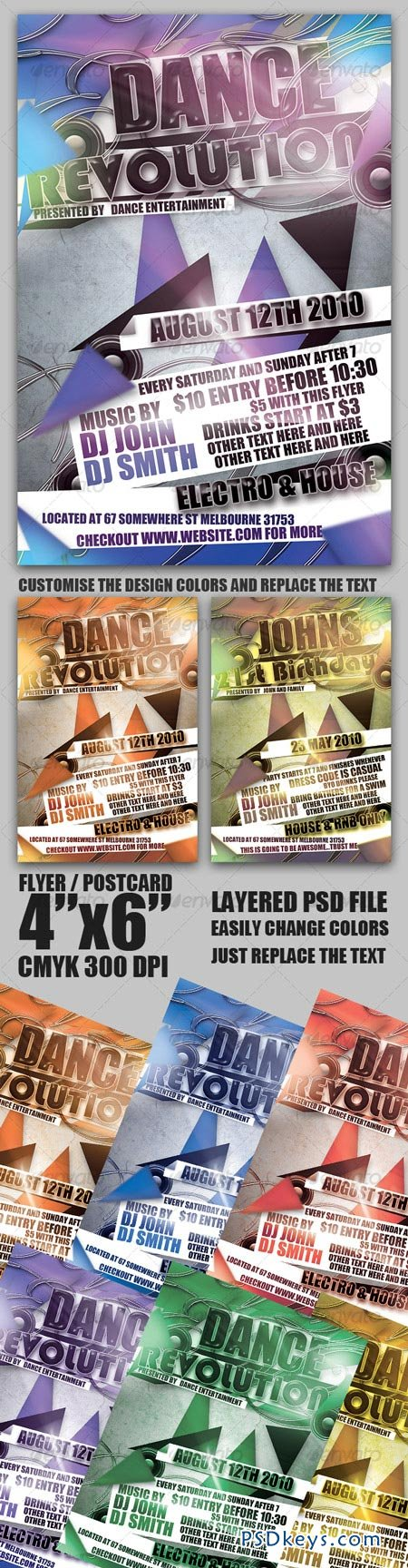 Flyer Postcard Template 101046