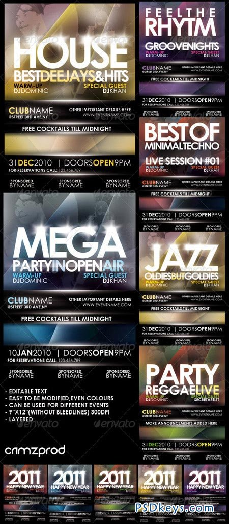 Club Party Poster 2011 148103