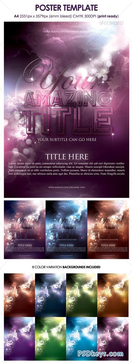 Poster Template 118226