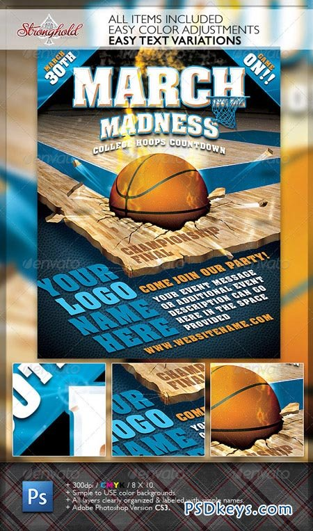 March Madness Championship Flyer 1867029