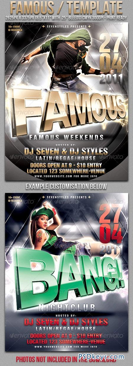 Mayhem Flyer Template Ice Cold Affair Flyer Ice Cold Affair Flyer