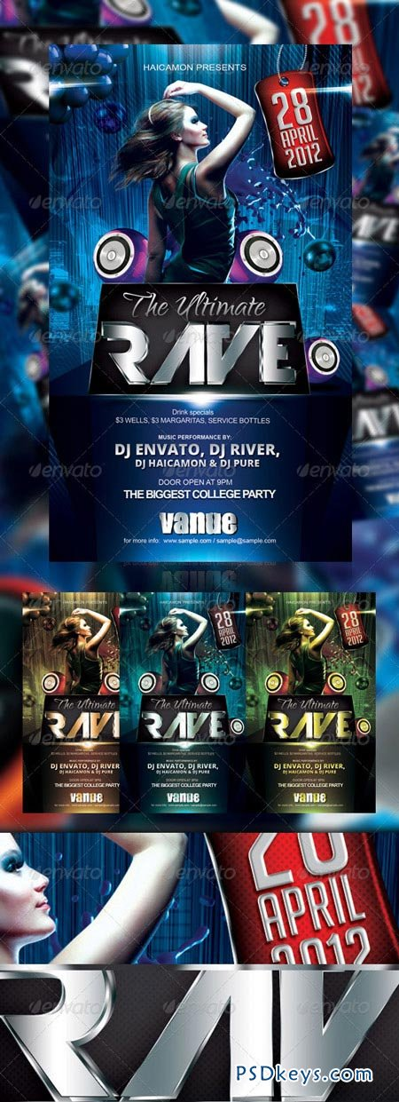 The Ultimate Party Flyer 2168087