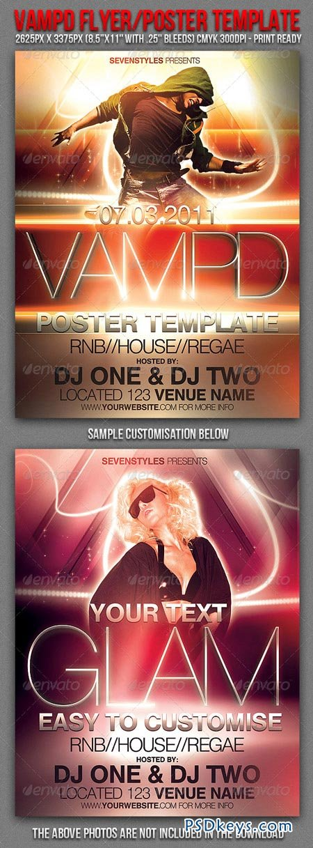 Vampd Poster Flyer Template 162639