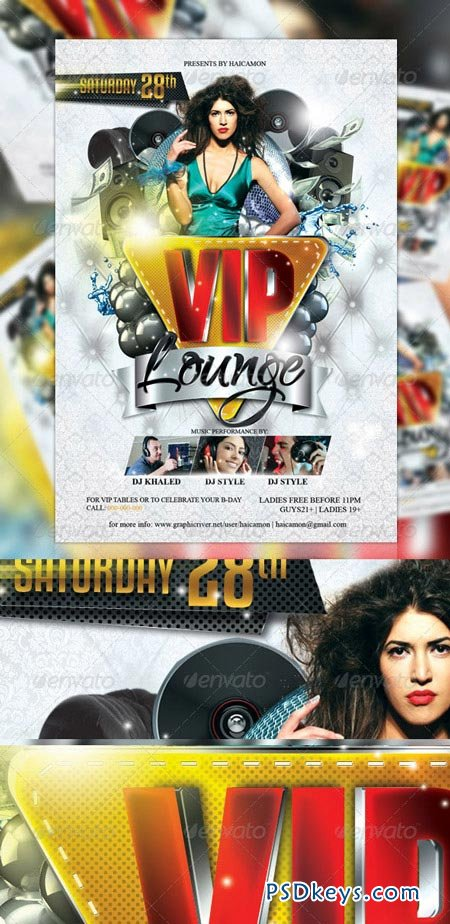 VIP Lounge Party Flyer 2178531