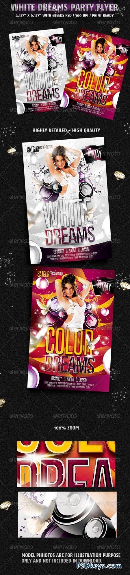 White Dreams Party Flyer 2274621