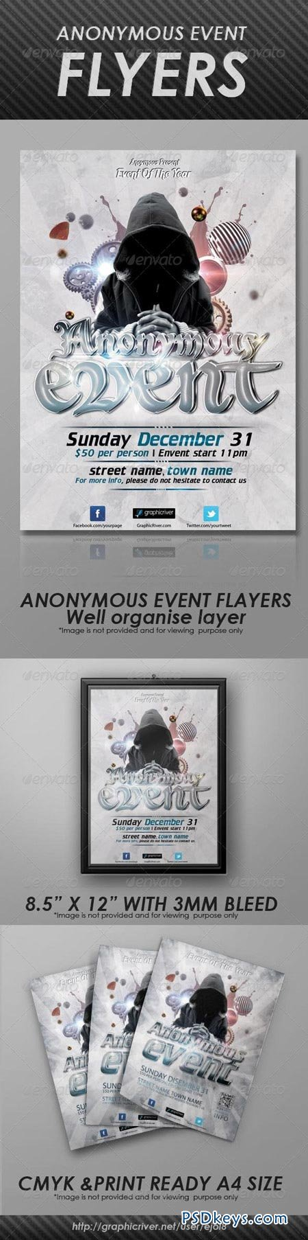 Anonymous Event Flyers 3205254