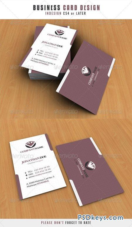 Business Card Design 321017