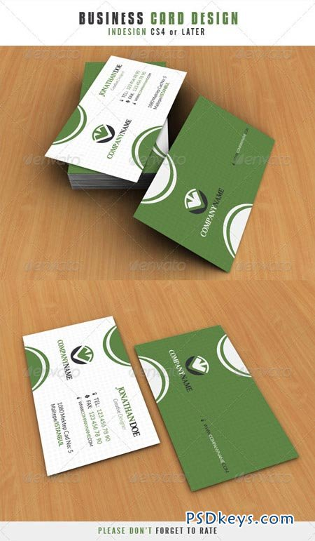 Business Card Design 3210215