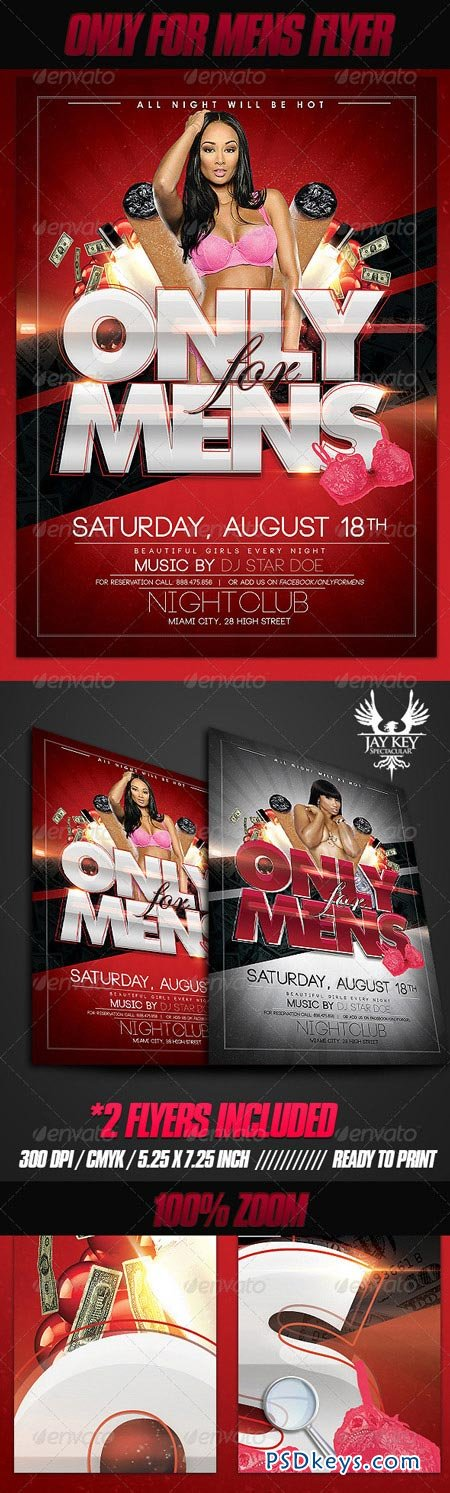 Only for Mens Flyer 3187635