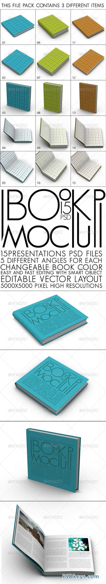Book Pack Mock Up 4964252