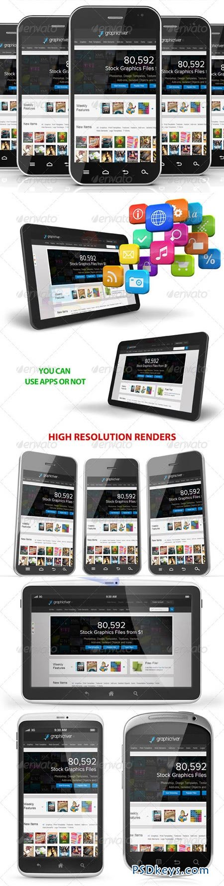 Android Devices Mockup 3495498