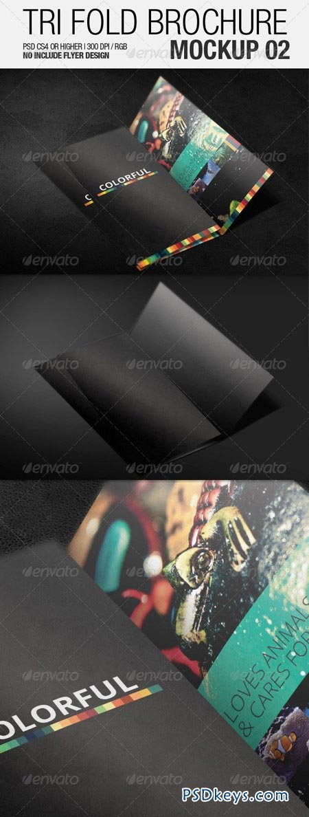 Tri Fold Brochure Mockup 02 3501931