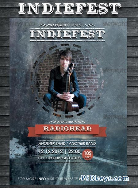 Indifest Flyer Poster 3495385