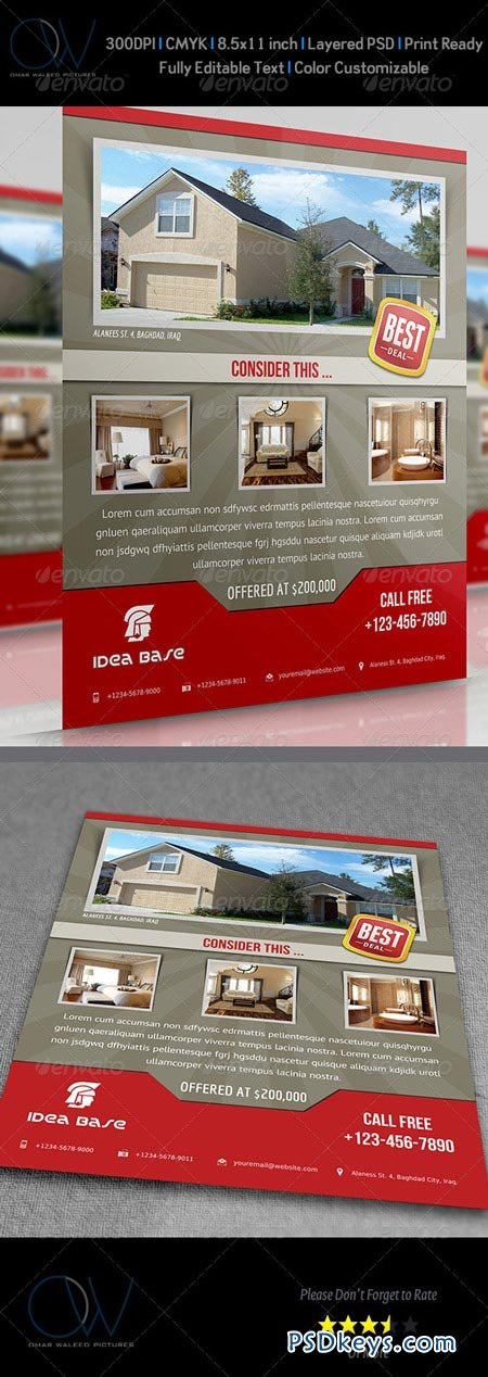 Real Estate Flyer 3508653