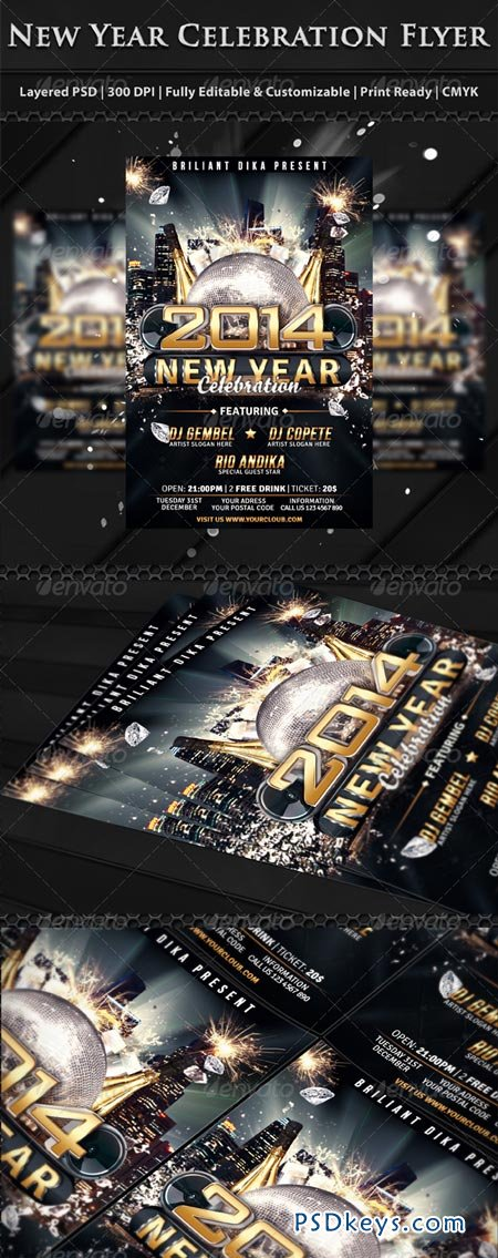 Celebration Flyer Templates Free  LondaBritishcollegeCo
