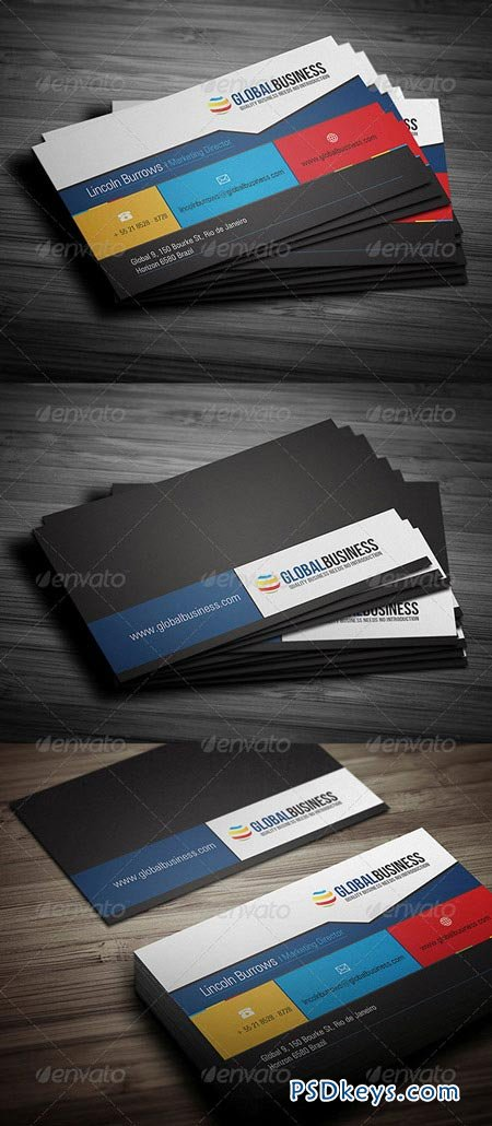 Corporate Business Card 21 3509299