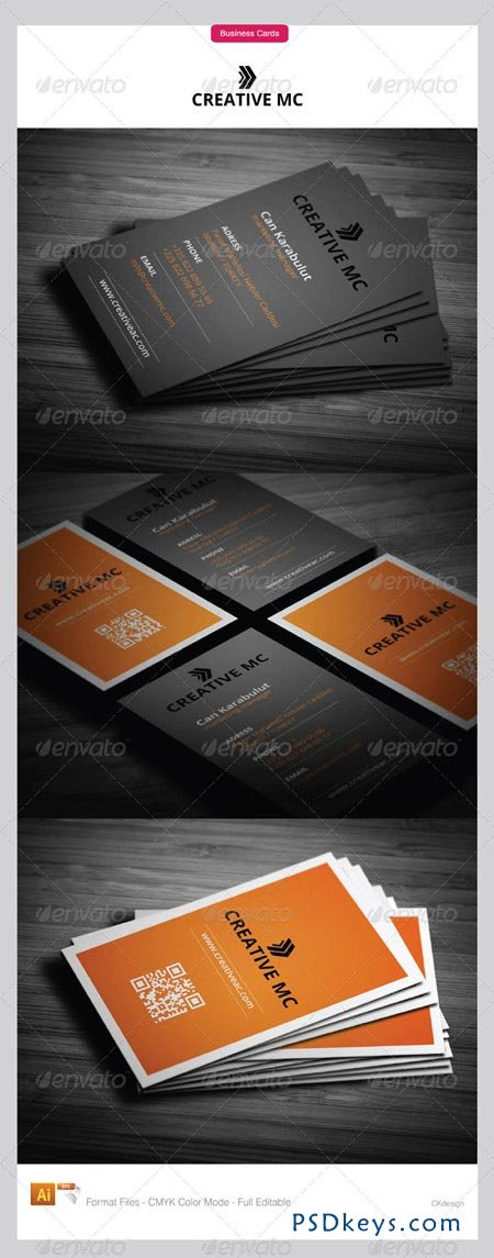 Corporate Business Cards 2011 3482174