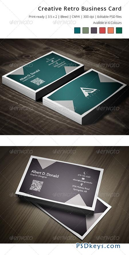 Creative Retro Business Card 6331091