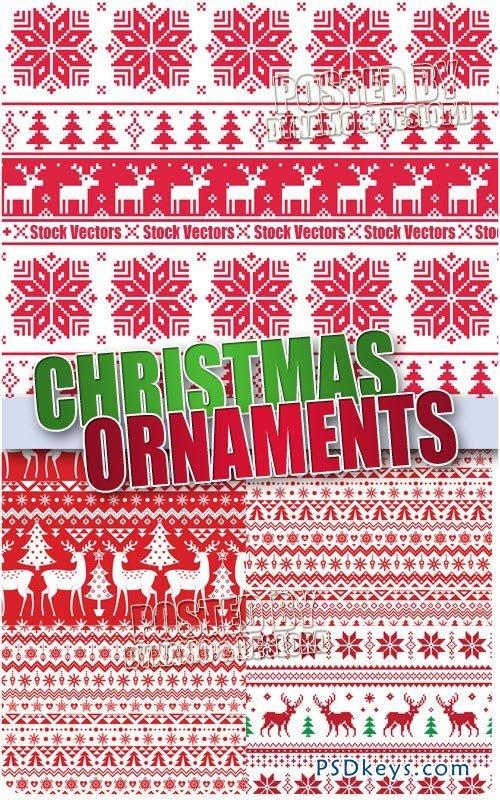 Christmas Ornaments - Stock Vectors