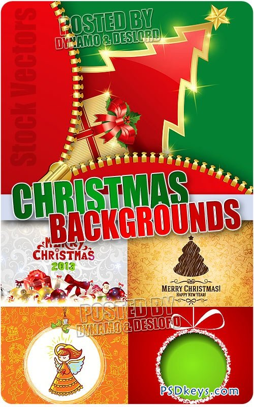 Christmas Background #3 - Stock Vectors