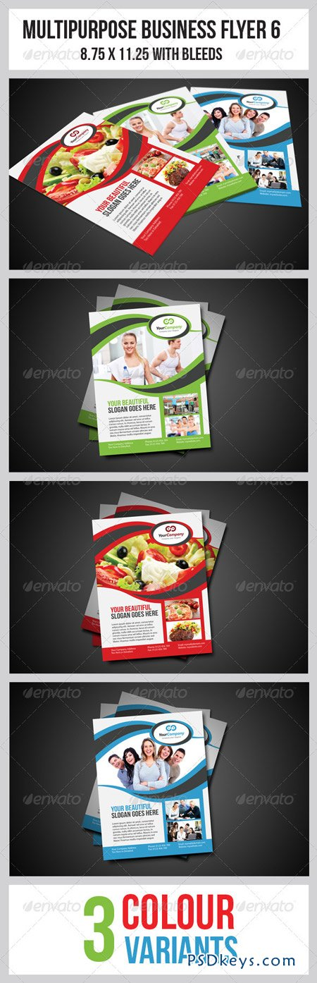 Multipurpose Business Flyer 6 3476282