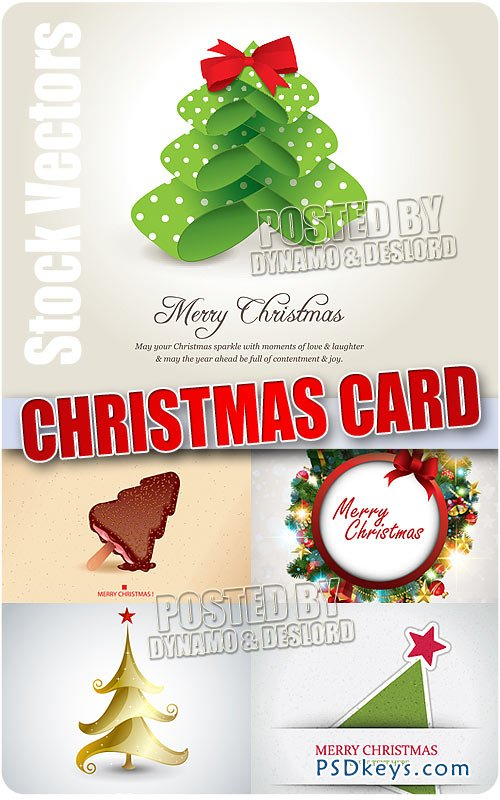 Xmas cards - Stock Vectors